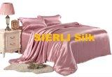 L'insieme di seta dello strato di alta qualità, la cassa di seta del cuscino, la lamiera piana di seta, seta misura lo strato, coperchio di seta del Duvet