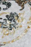 Talla de la madre del mosaico del shell del material de construcción de las ventas de Preal 2017