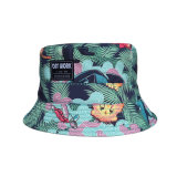 Forma de algodão personalizada Burket Hat pescadores chapéu de Verão