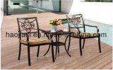 屋外の/Rattan/庭は/テラスのホテルの家具の鋳造アルミ椅子及び表セットした(HS 3193C及びHS 7302ET)