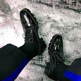 L'asiatico di buona qualità di disegno semplice calza i pattini convenzionali di Oxford del Mens