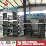 Hot Sale empilées de grande capacité Type cages de la couche de la volaille