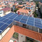 Instale o suporte 20kw Grade Desligado do Sistema de Energia solar para casa e uso de exploração