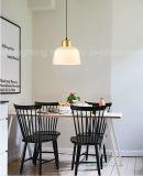 Самомоднейшие янтарные стеклянные привесные светильники для столовой украшают вися освещение