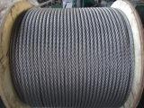 Grado marino 316 1X7 7X7 7X19 Cable Metálico de acero inoxidable