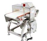 El transportador de correa de PU de grado alimentario el detector de metales de la máquina. Sistema detector de metales para la producción de alimentos