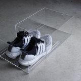 fait sur mesure en acrylique transparent Sneakers Chaussures Tiroir de type Boîte de rangement