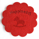 Online Shopping Shaped Rug Polyester Felt Coasters