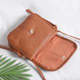 PU女性革ハンドバッグデザイナー原因の女性のメッセンジャー袋(WDL0965)