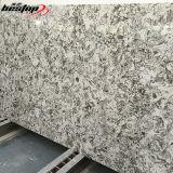 Камень кварца среднего кварца сляба кварца Carrara белого сырцового белый естественный