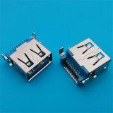 전통적인 제품 유형 연결관 90 도 USB 3.0 연결관
