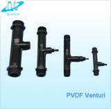 Preiswertes Preis 1/2 '' PVDF Venturi-Einspritzdüse für Wasserbehandlung