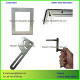Feuille de découpe laser personnalisée de pièces métalliques Fabrication en acier inoxydable