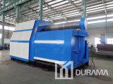 W11X-50/3000 &#160 ; Machine de roulement hydraulique de plaque en acier de 3 rouleaux/cintreuse de dépliement de rouleau/plaque