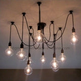 Schrauben-Birnen-Unterseiten-Lampen-Birnen-Halter-hängenden Lampe der LED-E27 Halter