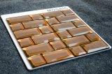 Orange Farben-Muster dekorative Backsplash Glasmosaik-Fliese für Küche