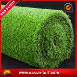 Césped artificial del césped verde natural del ocio para ajardinar