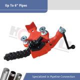 Support du tuyau de 6 pouces avec la poignée de manivelle (H402)