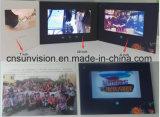 Folheto do negócio do jogador do LCD do cartão da música de Digitas