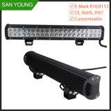 22 pulgadas 126W de luz LED CREE Bar para camionetas 4X4 off road la conducción