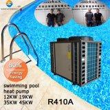 O termostato 32 deg. C Para 20~245cube medir água 12kw/19kw/35kw/70KW R410A Cop4.62 Swimmig interior da bomba de calor do aquecedor de água