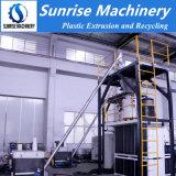 El procesamiento por lotes de mezcla de PVC automático y sistema de máquina de alimentación de la extrusora