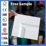 Columpio de madera Interior moldeado Honeycom Imprimación blanca de papel de la puerta (JHK-SK02)