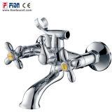 Mezclador doble de la ducha del fabricante de China de la maneta (F-21002)