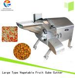 Máquina de corte em cubos da fruta e verdura automática, cortador do cubo do abacaxi da batata