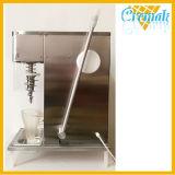 Super calidad remolino de fruta fresca de la máquina de helados para la venta
