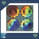 Kundenspezifischer Hologramm-Aufkleber des dynamischen Effekt-3D