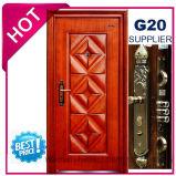 2017 Metal de qualidade superior da porta de ferro de segurança de aço (EF-S007)