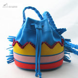 Colorful Tribal Beats Bucket PU Bag