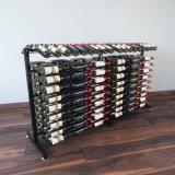 Шкаф бутылки вина хранения пола металла пользы индикации магазина розничной торговли