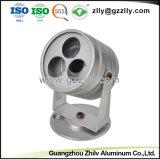 Scheinwerfer-Licht-Kühlkörper des Fabrik-schwarzer Aluminium-LED
