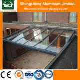 Marco Terrasoverkaping de la aleación de aluminio