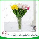 La rentabilidad de la planta de simulación populares falsos mayorista de flores tulipanes