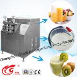 Milieu, 1000L/H, 100MPa, homogénisateur d'acier inoxydable pour faire la crème