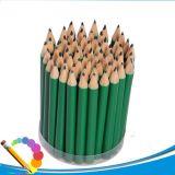 Студент школы канцелярских принадлежностей рисуя деревянный карандаш цвета при подгонянный логос
