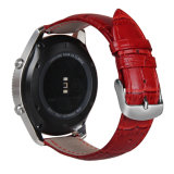 El patrón de cocodrilo Watch correa de cuero auténtico de la banda de marcha para Samsung S3 de la frontera de cuero/Classic