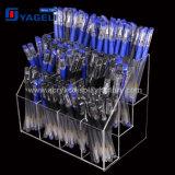 Factory Clear 8 Compartiments Organiseur en crayon acrylique