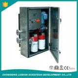 Type fixe en ligne changeur de prise en charge l'unité de filtration d'huile