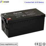 Batterie d'acide de plomb de /Sealed de batterie d'AGM/batterie d'accumulateurs 12V 200ah