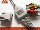 Kontron einteiliges 10-Lead EKG Kabel mit Resisitance