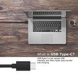 Rode USB 2.0 type-C usb-c Sync & Last verbindt het Laden de Kabel van het Bewijs van de Verwarring van de Lader (1 Meter) voor Sony Xperia Xz1 Compacte 2017