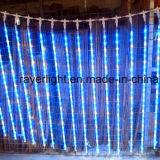 Le decorazioni di natale impermeabilizzano gli indicatori luminosi della corda delle precipitazioni nevose del LED