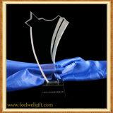 Trofeo de Cristal blanco Estrella Five-Pointed personalizado
