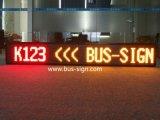 RS485/USB/Wireless reparou o indicador da rota do diodo emissor de luz do barramento do prefixo para destinos/em seguida estação