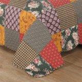 Чисто комплект постельных принадлежностей 4-Части вышивки хлопка