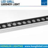 Arandela al aire libre de la pared de la iluminación IP65 15W RGB LED del paisaje LED